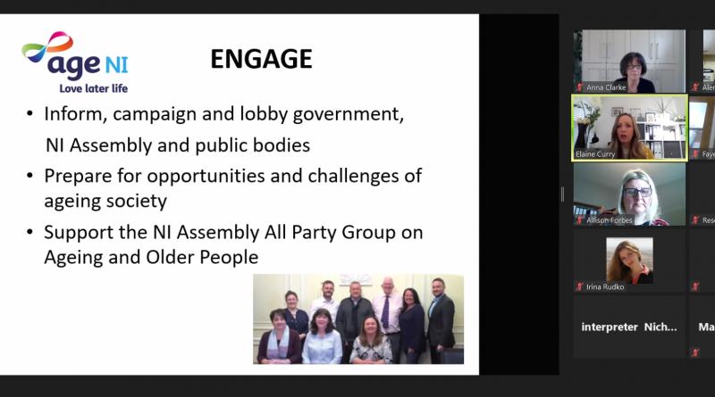 Встреча по вопросам сотрудничества между белорусскими и ирландскими организациями в теме расширения возможностей и участия пожилых людей