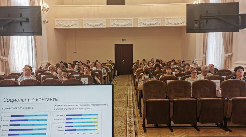 """16 июля в г. Витебске состоялся семинар """"Современные модели в организации поддержки и ухода за пожилыми людьми в сельских регионах"""""""
